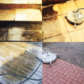 domestic pressure cleaning